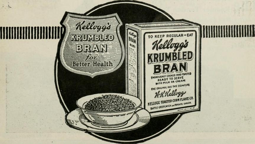 Kellog-Werbung